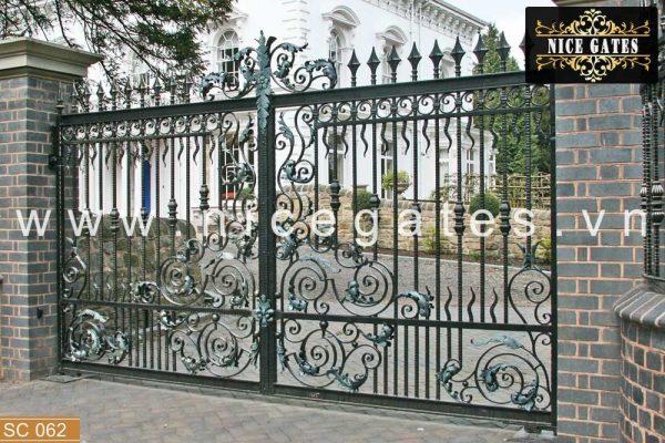 062 Cua cong sat dep Nicegates.vn  600x400 - Đa dạng hóa phong cách cùng cửa cổng sắt