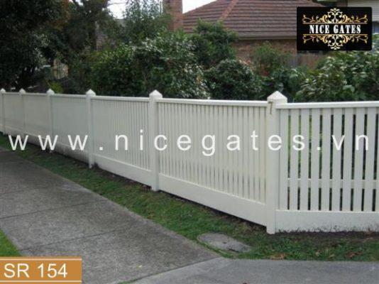 154 Hang rao sat dep Nicegates.vn  534x400 - Tầm quan trọng của hàng rào sắt về mặt phong thủy