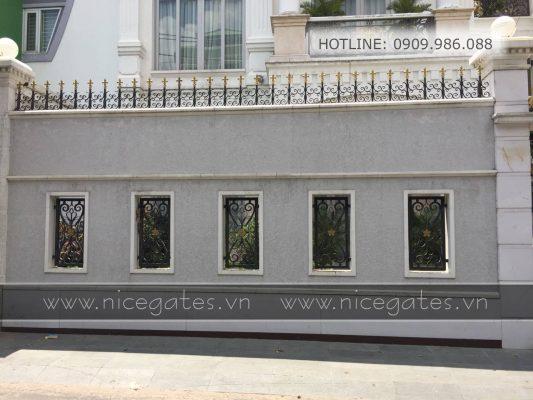 Mr Hung Tan Binh TPHCM 6 533x400 - Điểm tên 5 điều cần biết khi chọn hàng rào sắt mỹ thuật phong thủy