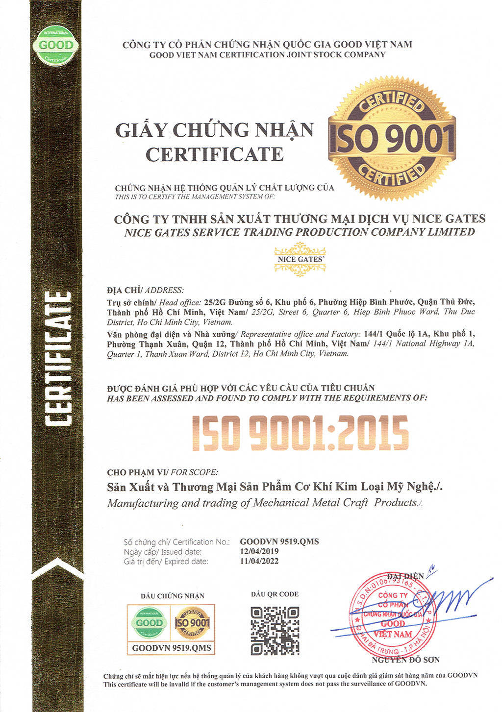 Chung Chi ISO scan