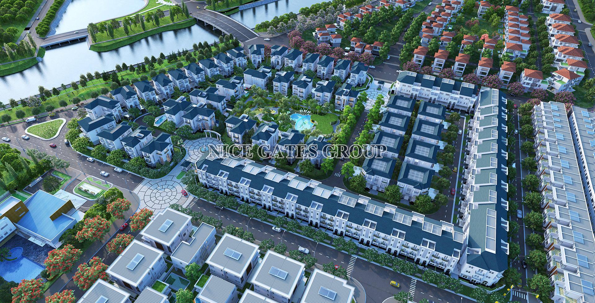 phoi canh du an sol villas