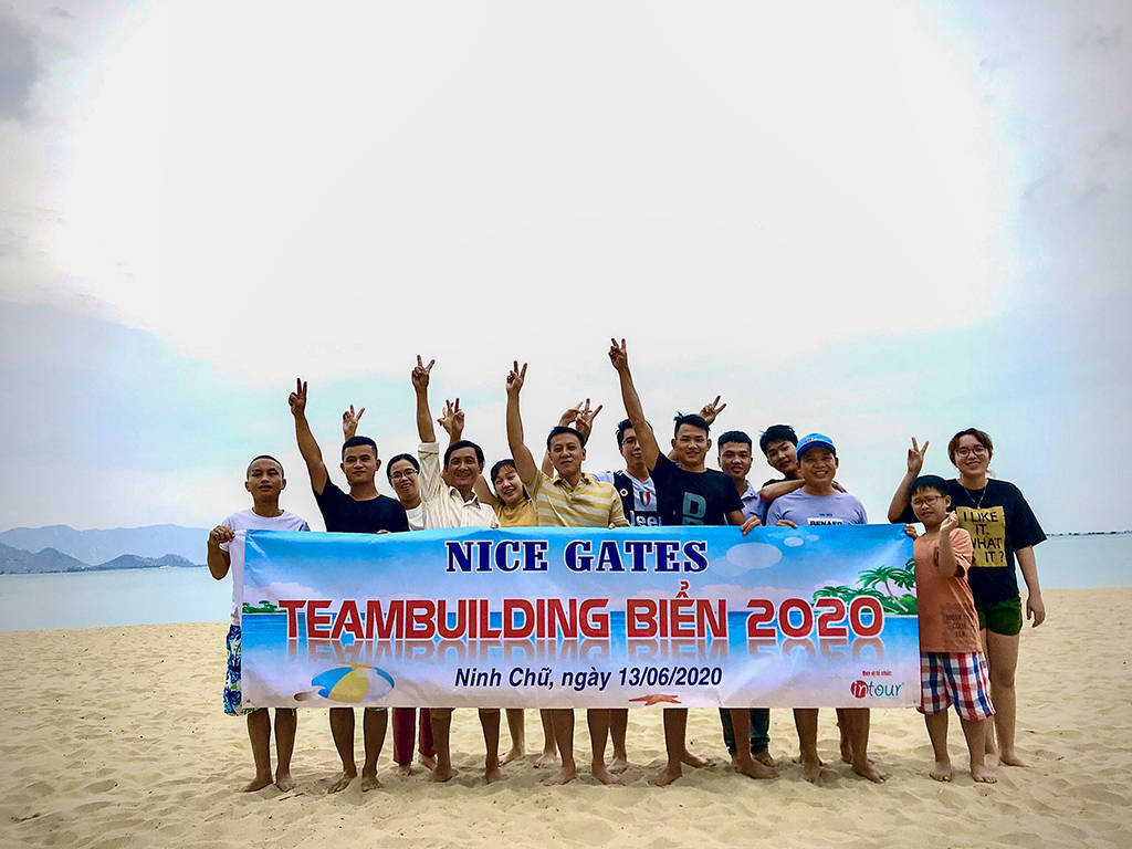 Teambuilding Nice Gates Group 2020 16