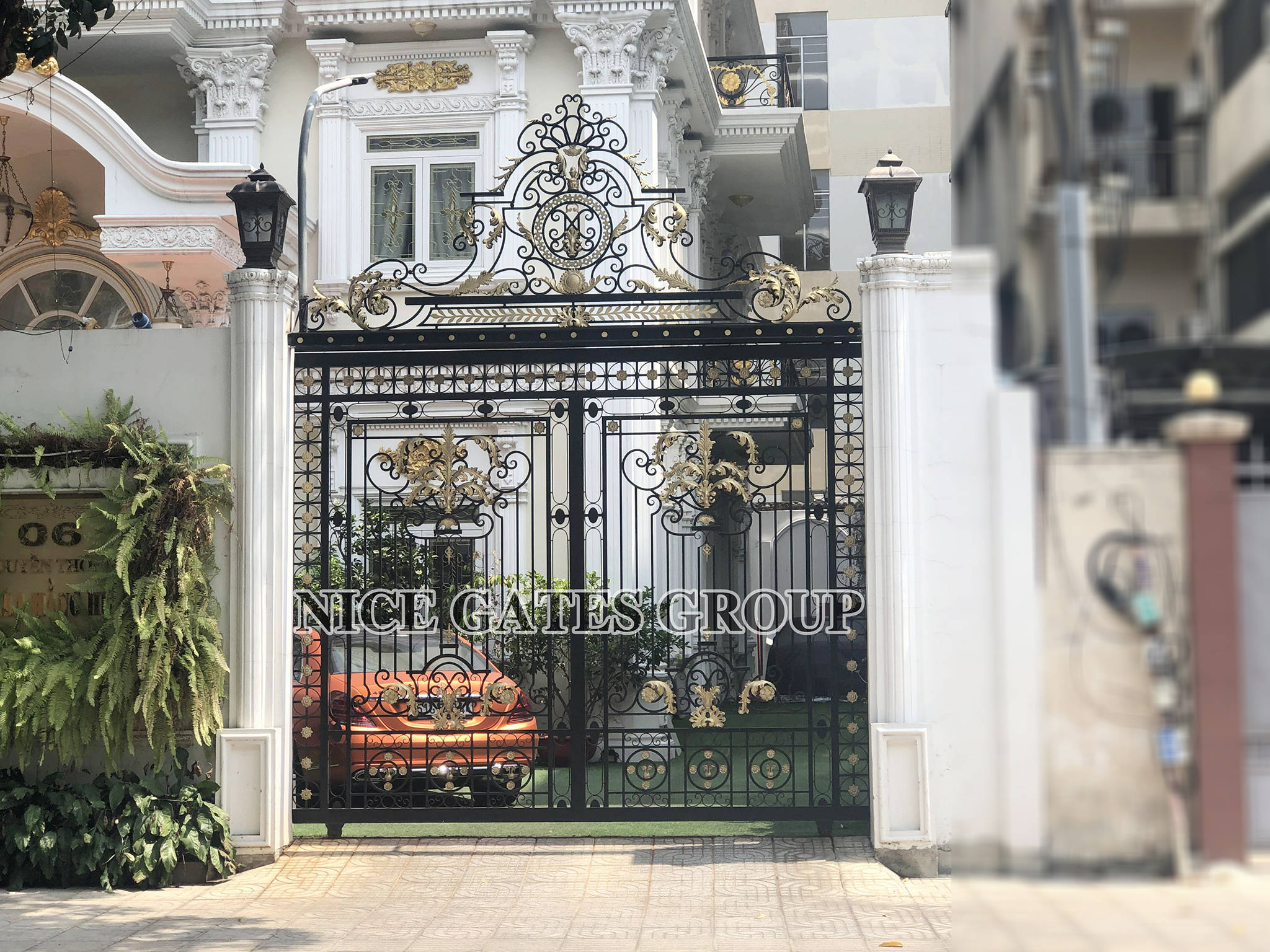 Custom entry gates