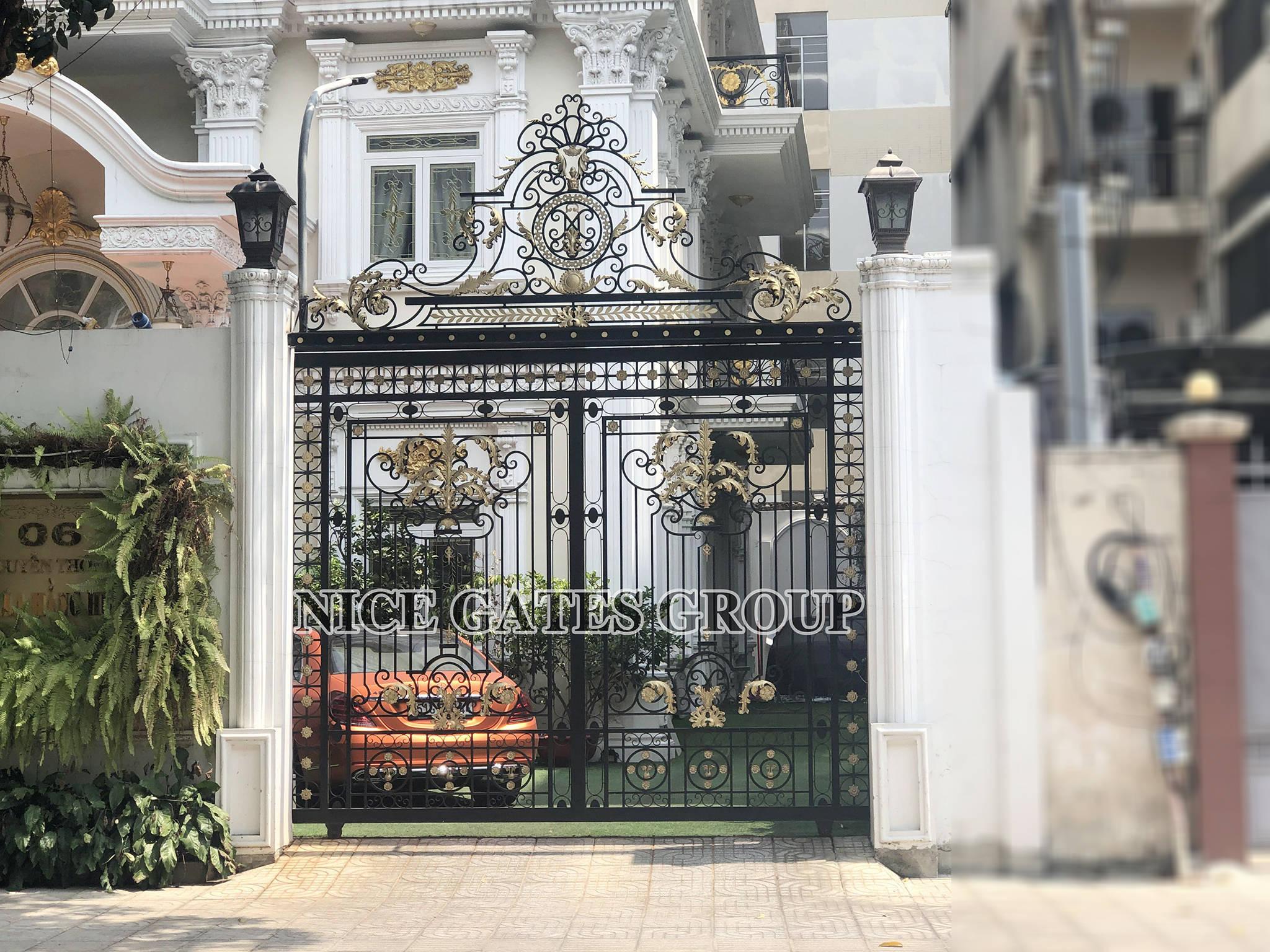 Custom entry gates 1